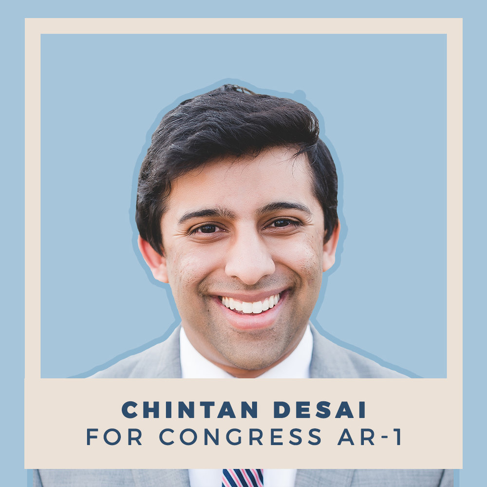 Chintan Desai for Congress AR-1