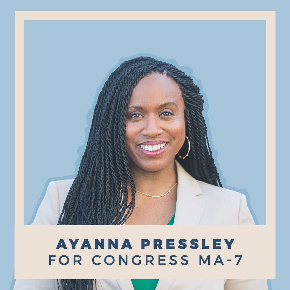 Ayanna Pressley for Congress MA-7
