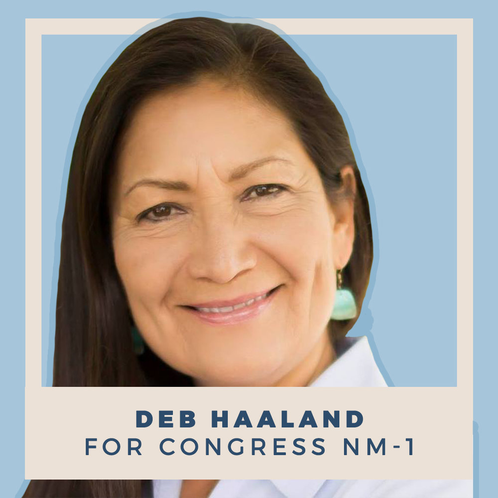 Deb Haaland for Congress NM-1