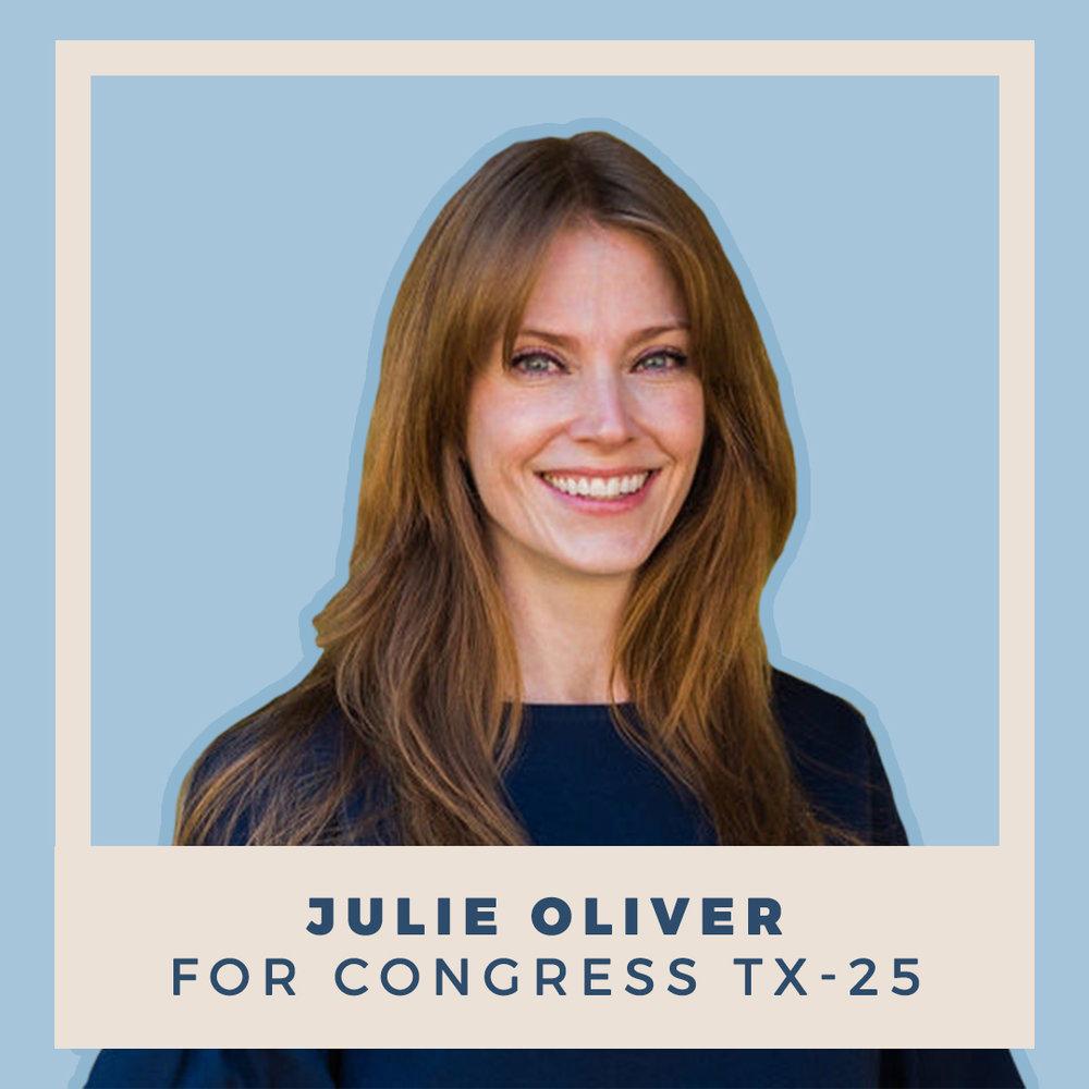 Julie Oliver for Congress TX-25
