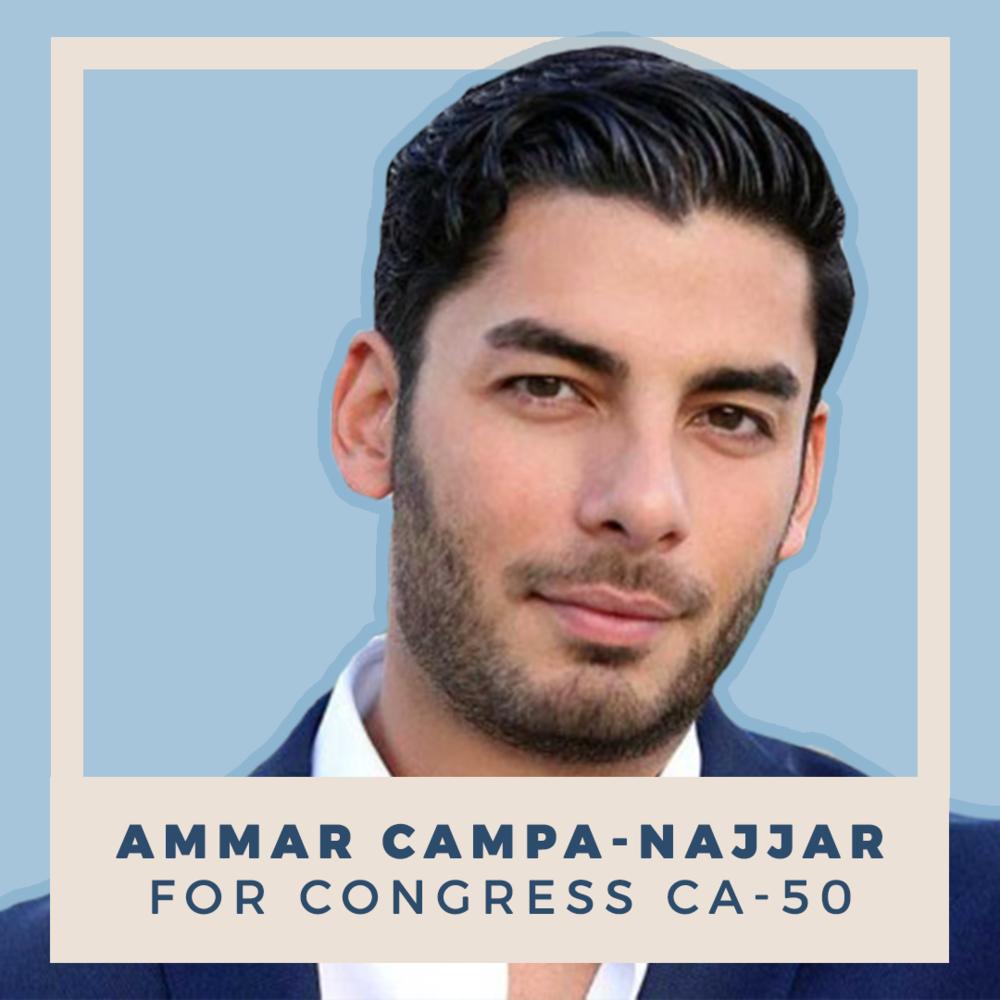 Ammar Campa-Najjar for Congress, CA-50