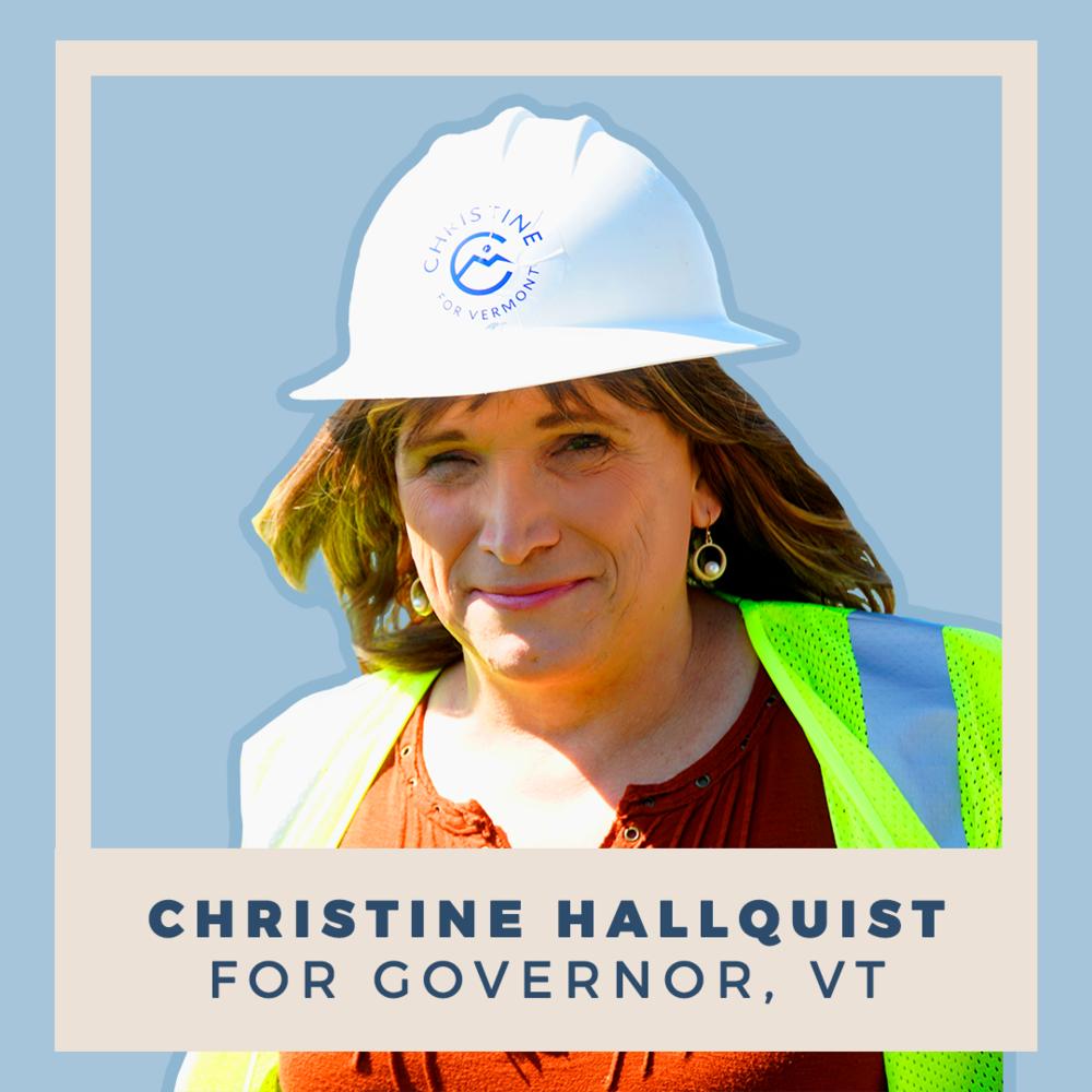 Christine Hallquist for Governor of Vermont