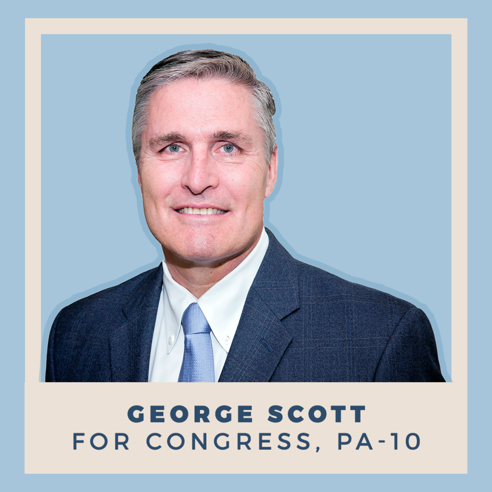 George Scott for Congress, PA-10