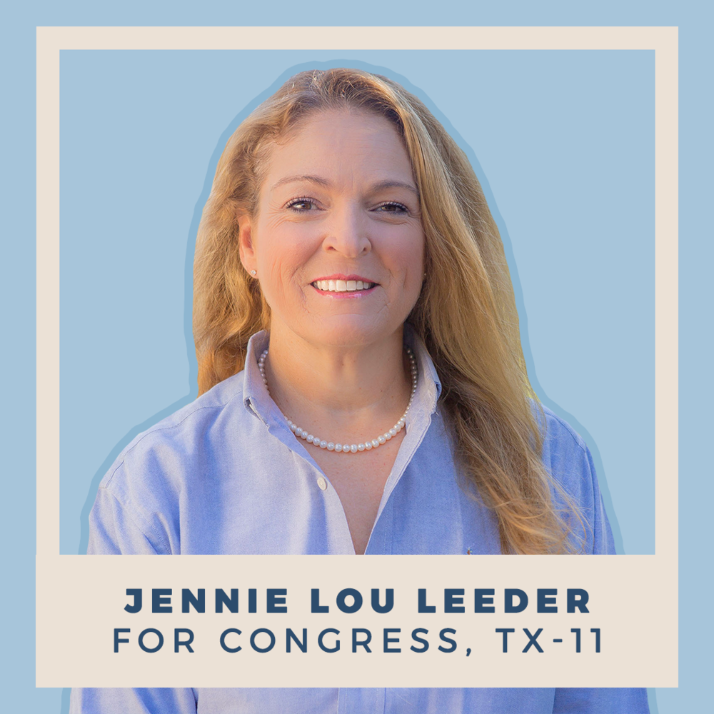 Jennie Lou Leeder for Congress, TX-11