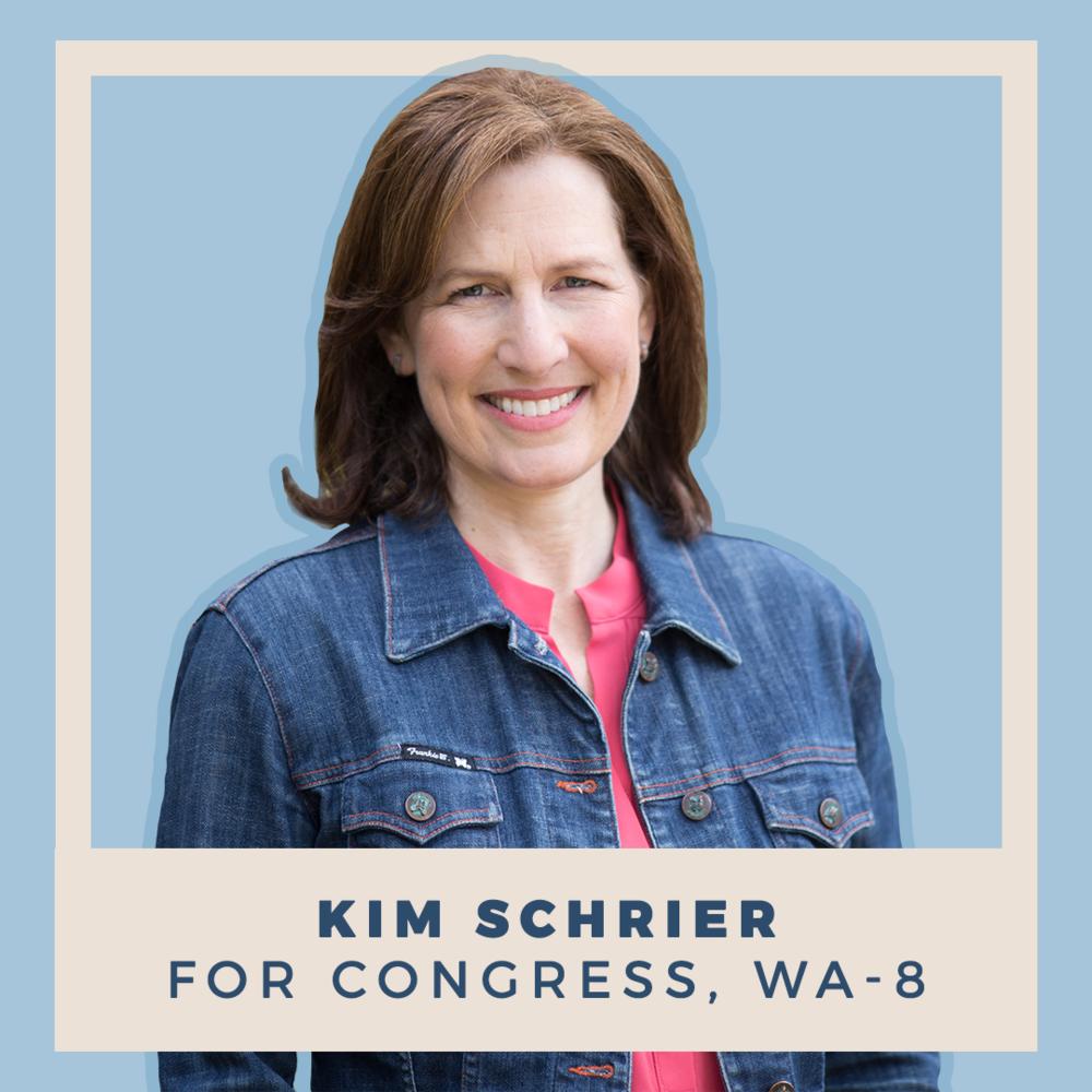 Kim Schrier for Congress, WA-08