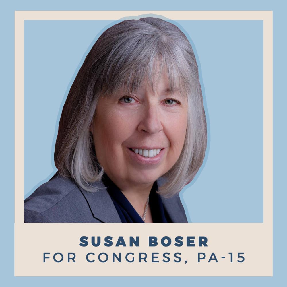 Susan Boser for Congress, PA-15