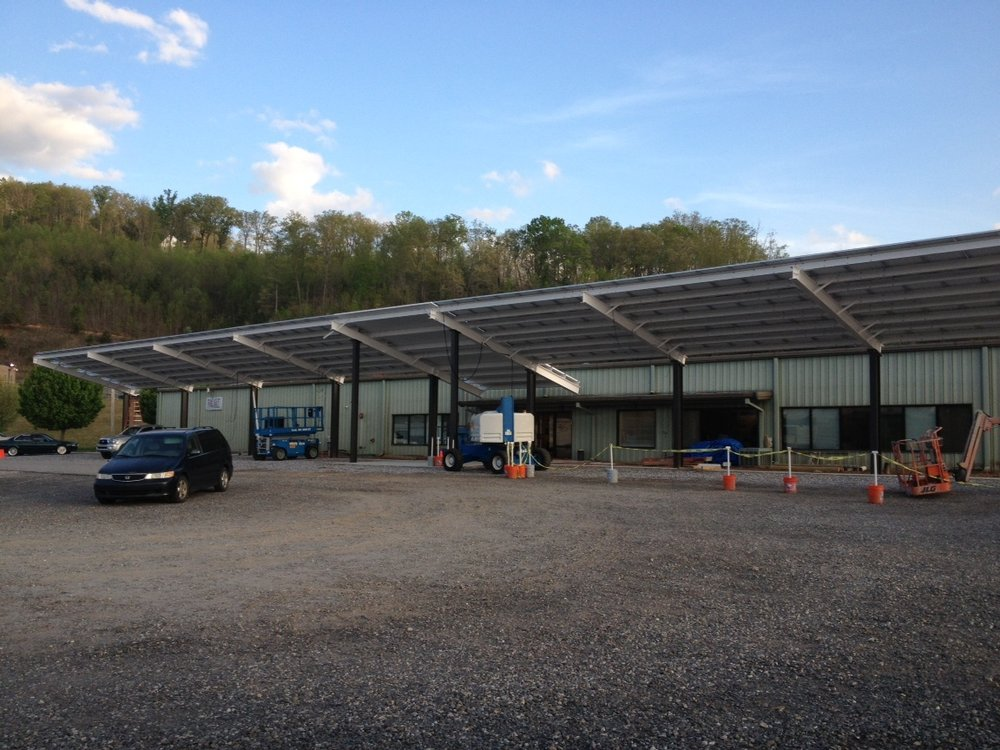 Panel Built Canopy - Blairsville, GA