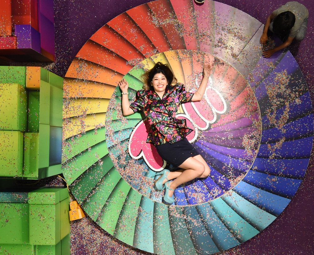 Candytopia Candy Museum Rainbow Wheel