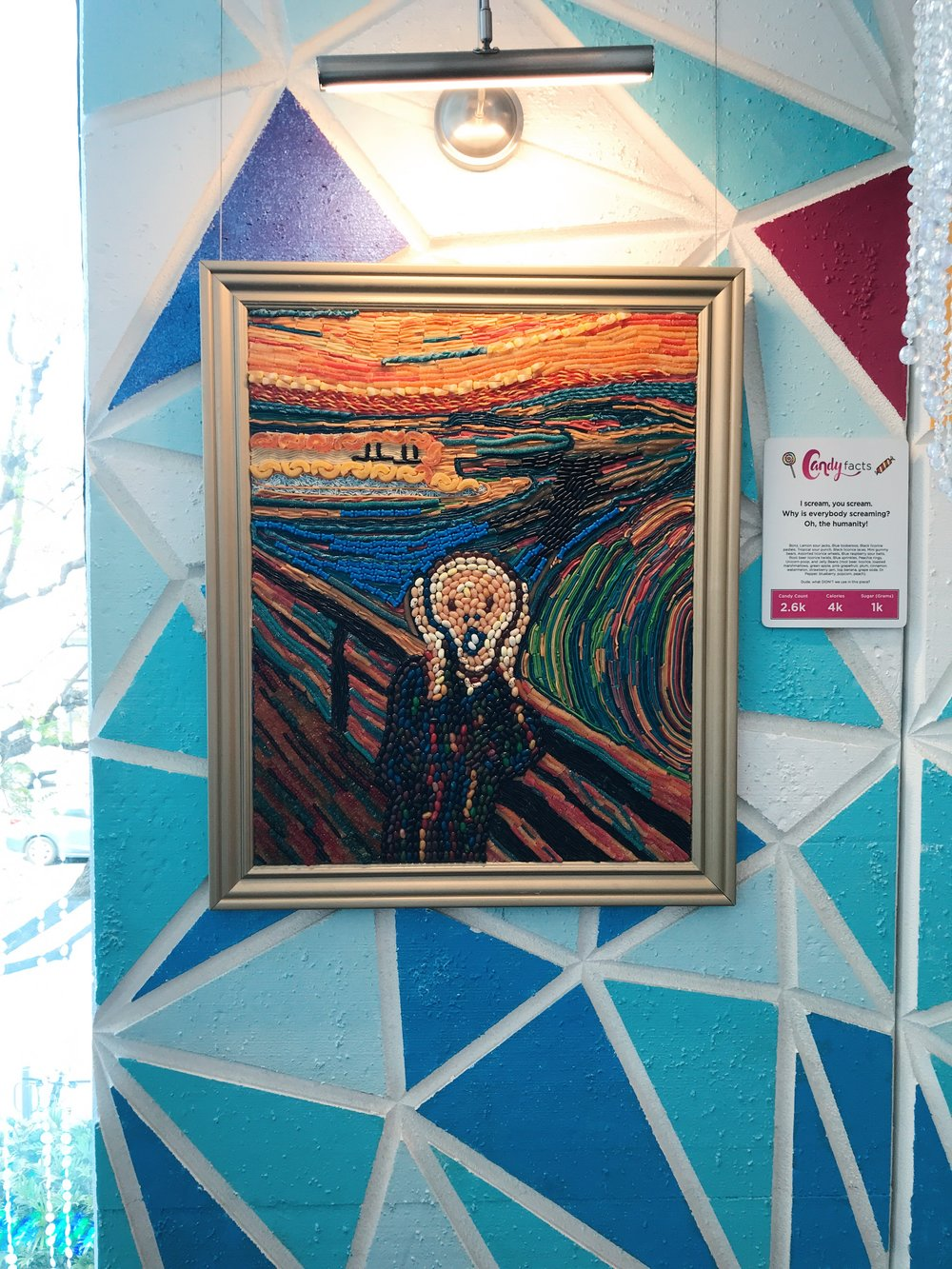 Candytopia Edvard Munch The Scream Painting