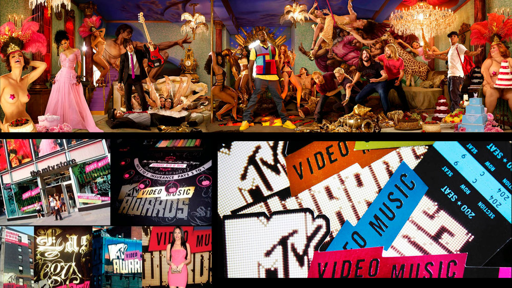 MTV VMA BRANDING DESIGN