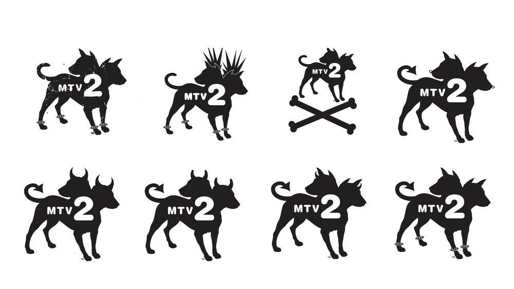 MTV2 LOGO VARIATIONS