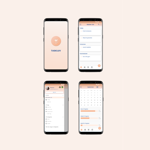 Student Project: TaskLuv (Android)