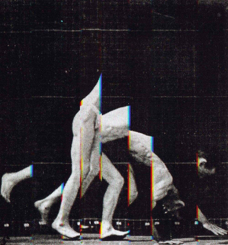 Eadweard Muybridge Motion Study Motion Study #19