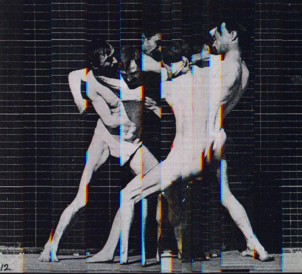 Eadweard Muybridge Motion Study Motion Study #20