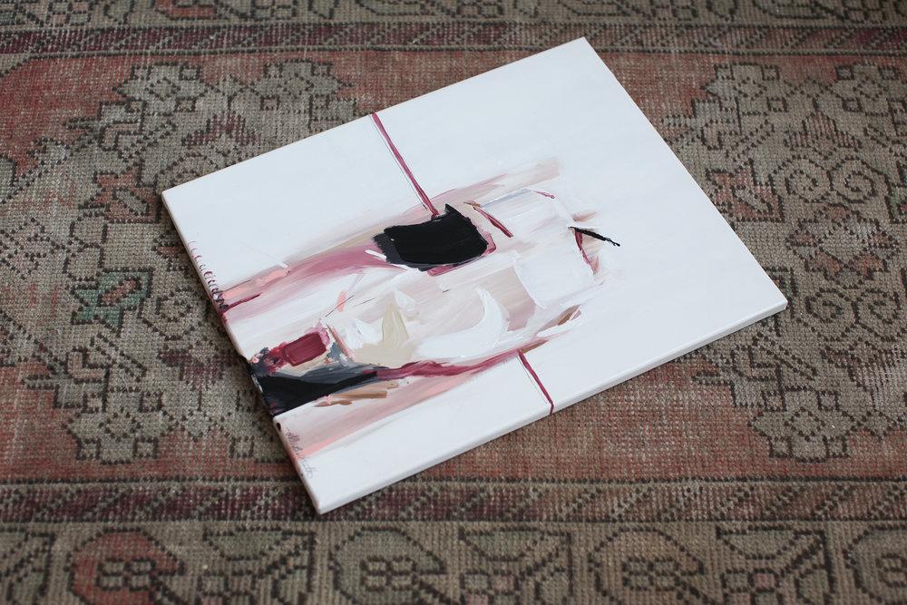 Elle est II, 16x20 acrylic on canvas