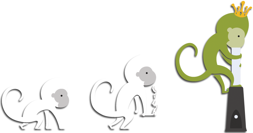 Vapexhale Evolving Monkeys