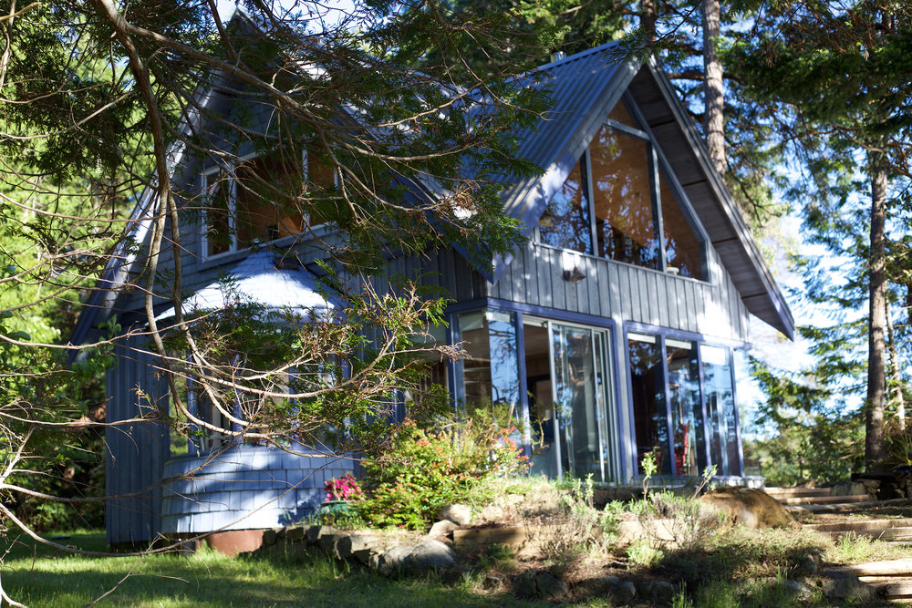 Blue Cabin -