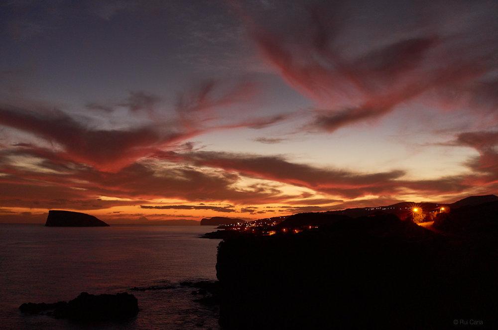 Ilhéu das Cabras Sunset