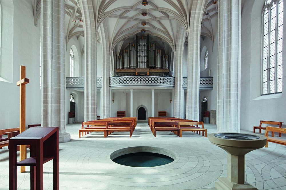 Zentrum Taufe Eisleben,Petrikirche.Photo: Frank-Heinrich Müller