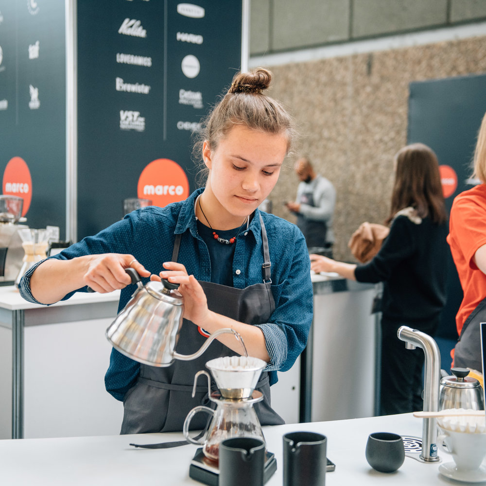 Brew bar & espresso bar - Get your caffeine fix at the Brew Bar or the Espresso Bar! Beverages will be kindly prepared and served by skilled volunteer baristas.