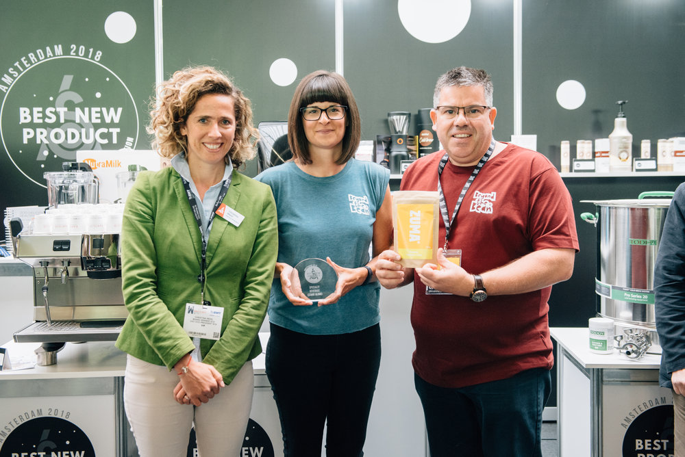 Category:  Specialty Beverage Stand Alone  Winner:  Beyond the Bean: Zuma Organic Tumeric Chai