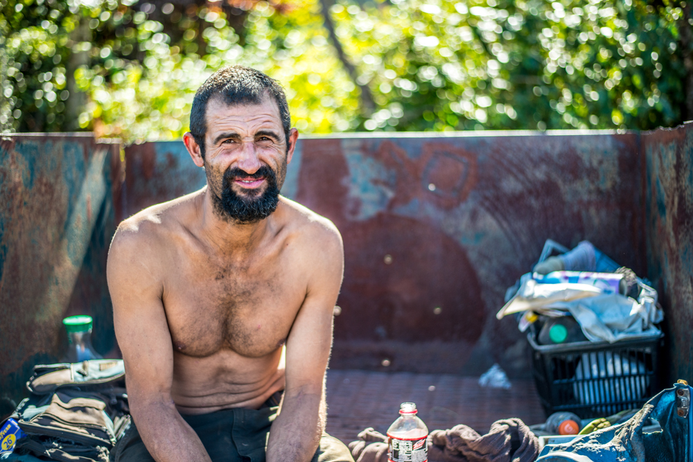 Hope for the homeless - wes fisher photography - portrait project - man in dumpster.jpg