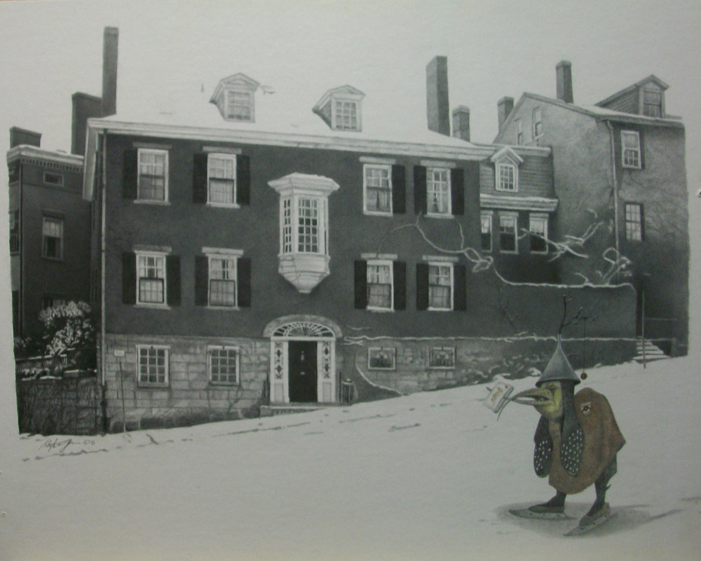 Gervais_BETWEEN STORMS --  Pencil on illustration board -- 1993 -- 18 14 x 14 12.JPG