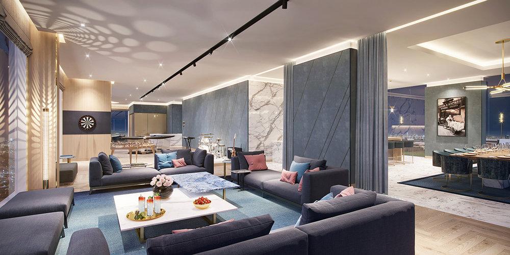 Residences Lounge