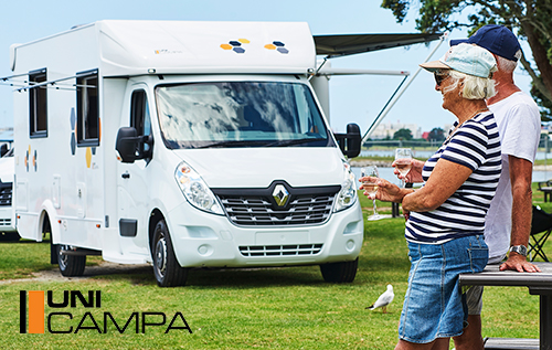 You've been looking forward to living the Road Life and now you can in your very own, brand new UniCampa Motorhome.