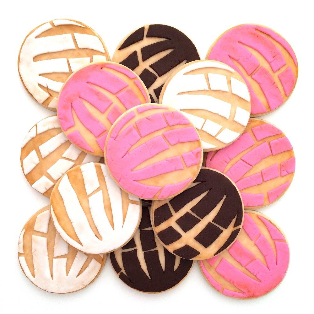Concha Sugrcookies
