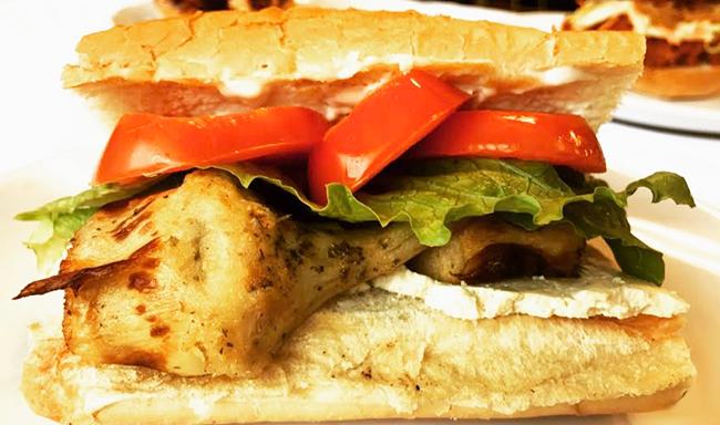 Fried Artichoke Sub