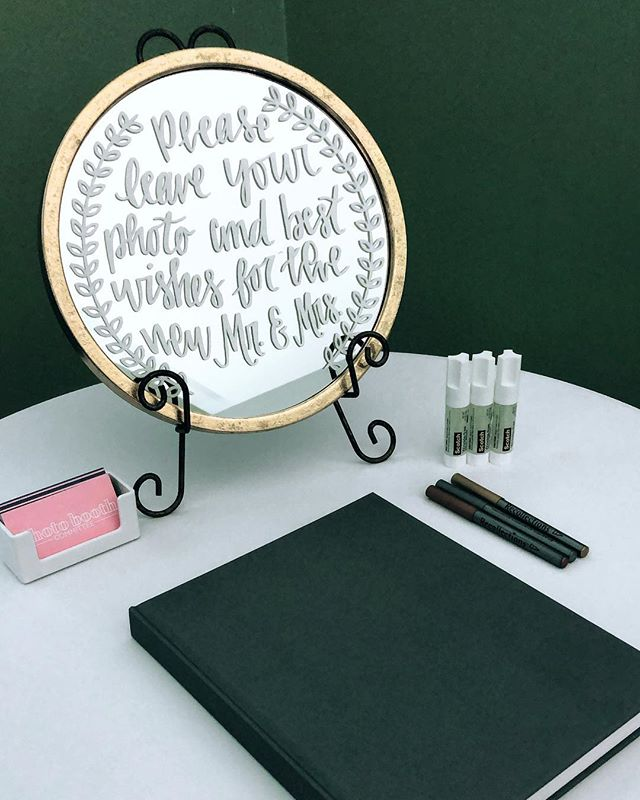💗 Please leave your photo and best wishes for the new Mr. and Mrs. 💗 Our absolute favorite item that we offer - a memory book filled with the photo booth photos and notes of love and encouragement from friends and family for the bride and groom to cherish forever! 🖋  #dfwphotobooth #dfwweddings #dallasweddingvenue #ftworthweddingvenue #dentonwedding #photoboothrentaldfw #bridesofnorthtx #bridesofnorthtexas #photoboothrental