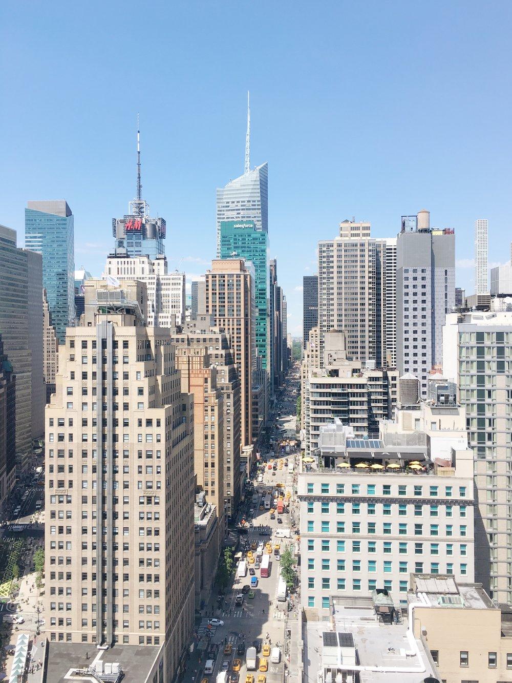 紐約Midtown中城風景