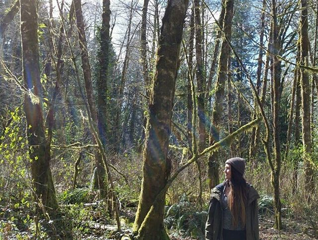 22 today💚 I'll be spending more days like this getting familiar with my fuzzy green forest. Photo creds from my lovely babe 💚💚💚