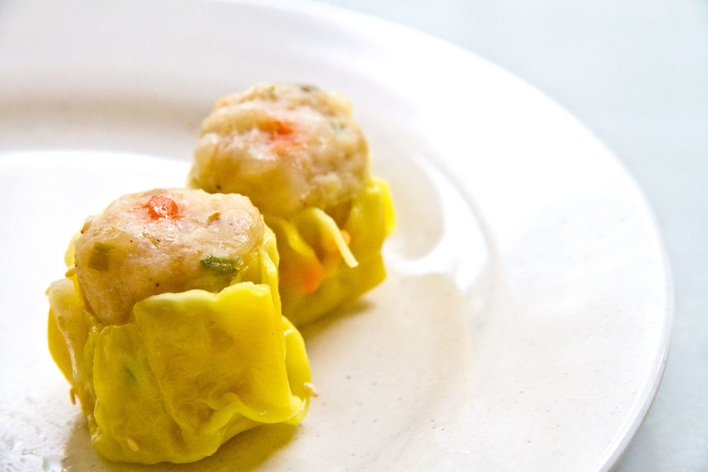 Siew Mai  This must have Dim Sum originates from inner Mongolia and is healthy and tasty. Here, the Siew mai is freshly made. Try it today  ip bao is big enough to satisfy the cravings of juicy meat sinked into the teeth.
