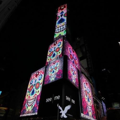 times square billboard -