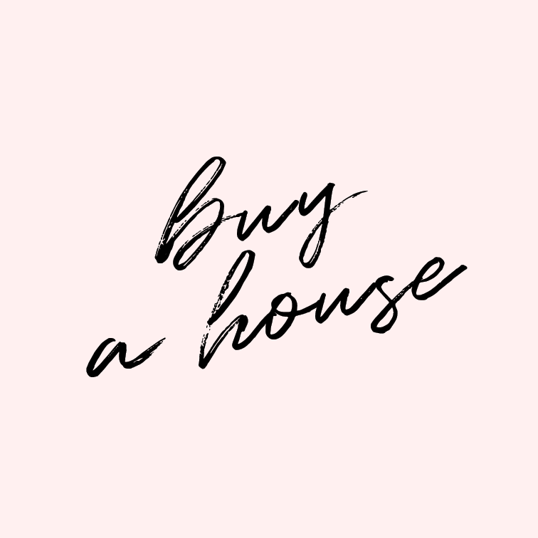 Buy a house.   Owning a home seems terrifying. Joshua and I are not quite ready for that adult step, but we do want to eventually have our own home where we can pound as many nails into the wall as we want without fear of multiple $10 fines.