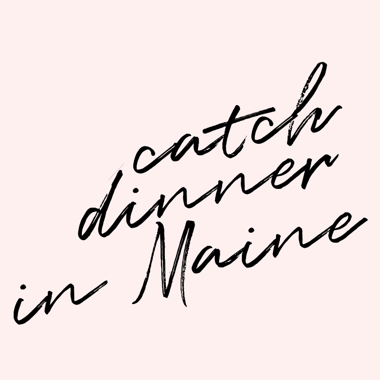 Catch dinner in Maine.    For some reason, Maine has always intrigued my heart. I think I'd like to have a home there someday, MAYBE. But for now, I'll settle on a fresh dinner near the ocean, buried in the forest.
