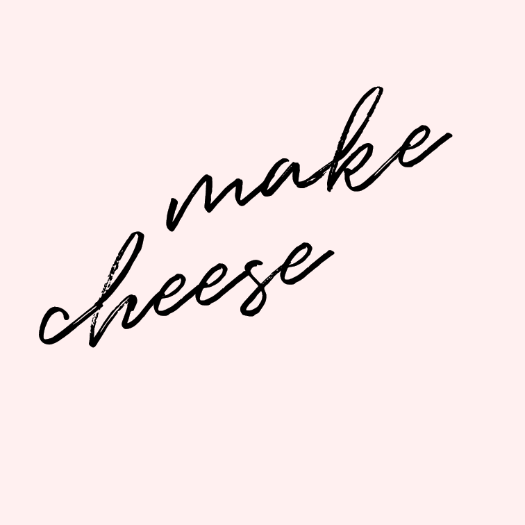 Make cheese.   It can't be thaaaaat hard, right? Maybe sometime when I have a few days to do nothing else, I'll try to make cheese.