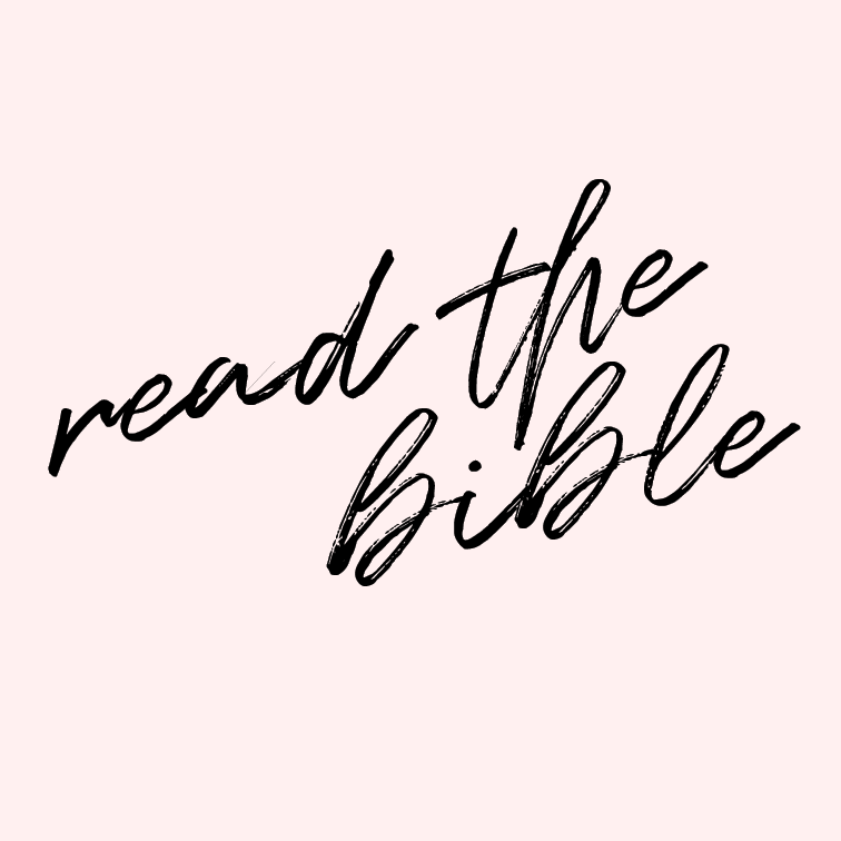 Read the entire Bible.   Can you believe it? I've never read through the entire Bible. I've started and then stopped more times than I can remember, and I've missed so many valuable passages and stories.