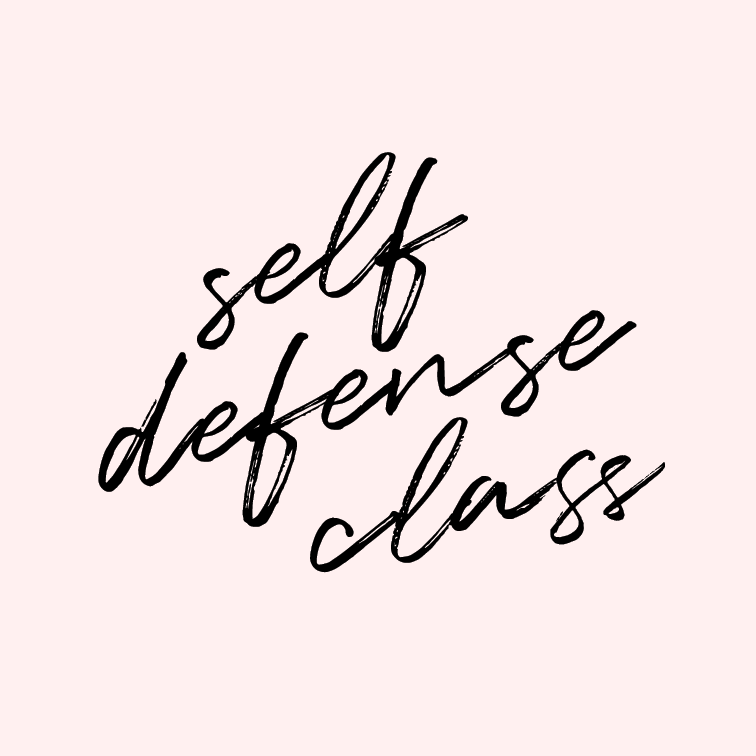 Talk a self defense class.    Not only do I wish to be more bad ass, but I think a woman should be able to protect herself. Bring on the kicks and punches!