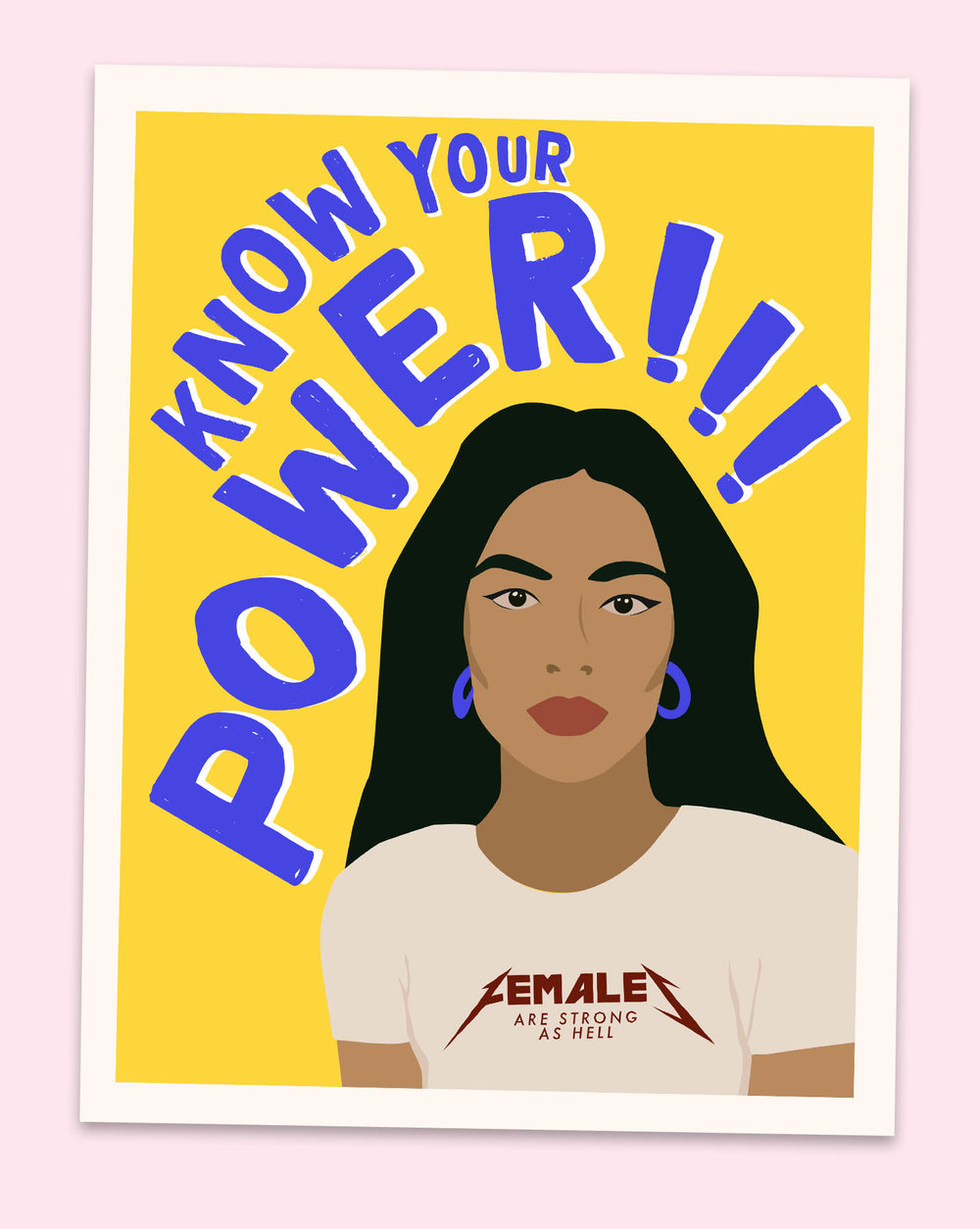 Powerful Women Prints — Heartman