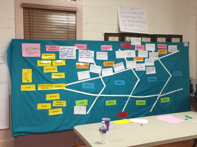 The planning board from the CIRD workshop