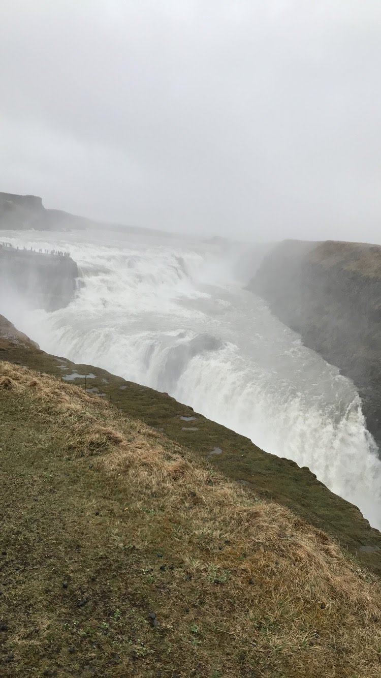 Gullfoss - Golden Waterfall