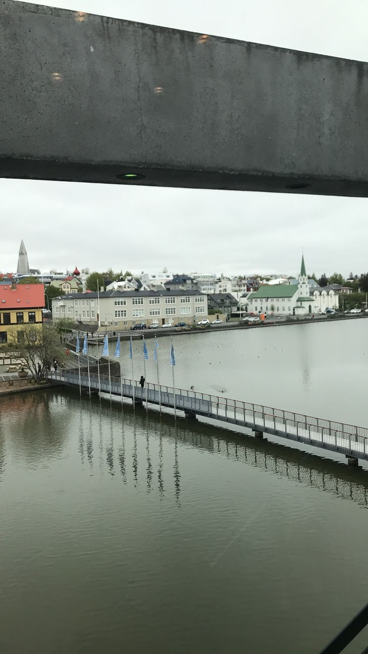 View from Reykjavik Townhall
