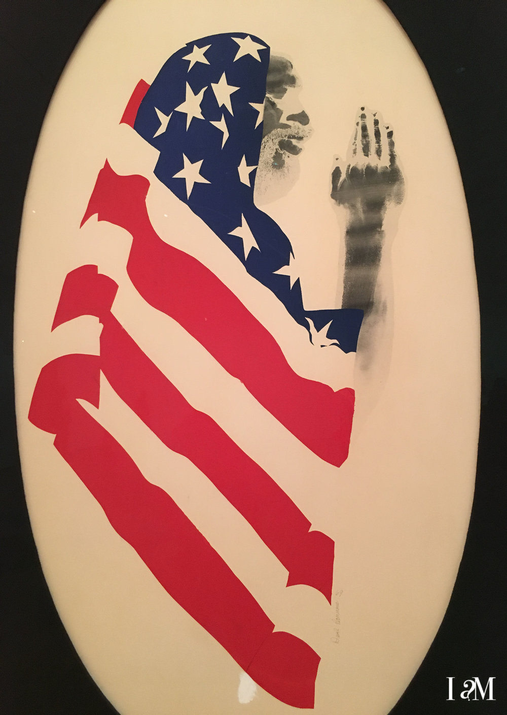Pray for America - David Hammons, 1969