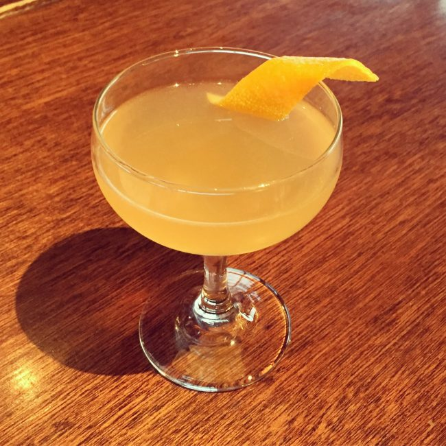 sidecar switchel cocktail