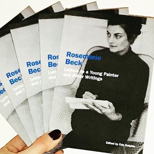 "#regram @soberscove ""Rosemarie Beck: Letters to a Young Painter and Other Writings"" was published today! Available through Soberscove Press . ******************************* In the writings gathered here, Beck approaches her subjects in the same manner as she would have approached a complex narrative painting: through a richly textured combination of literary allusion, metaphor, direct observation, and autobiography. Rosemarie Beck: Letters to a Young Painter and Other Writings brings together a selection of Beck's writings for the first time, situating her distinctive voice within the milieu of mid-century artist-writers. #rosemariebeck #writing #arthistory #literature #newyorkschool"