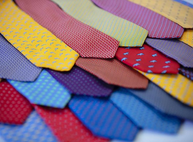 Just a few ties #suitablydressed #suitablyimpressed #ascottailors