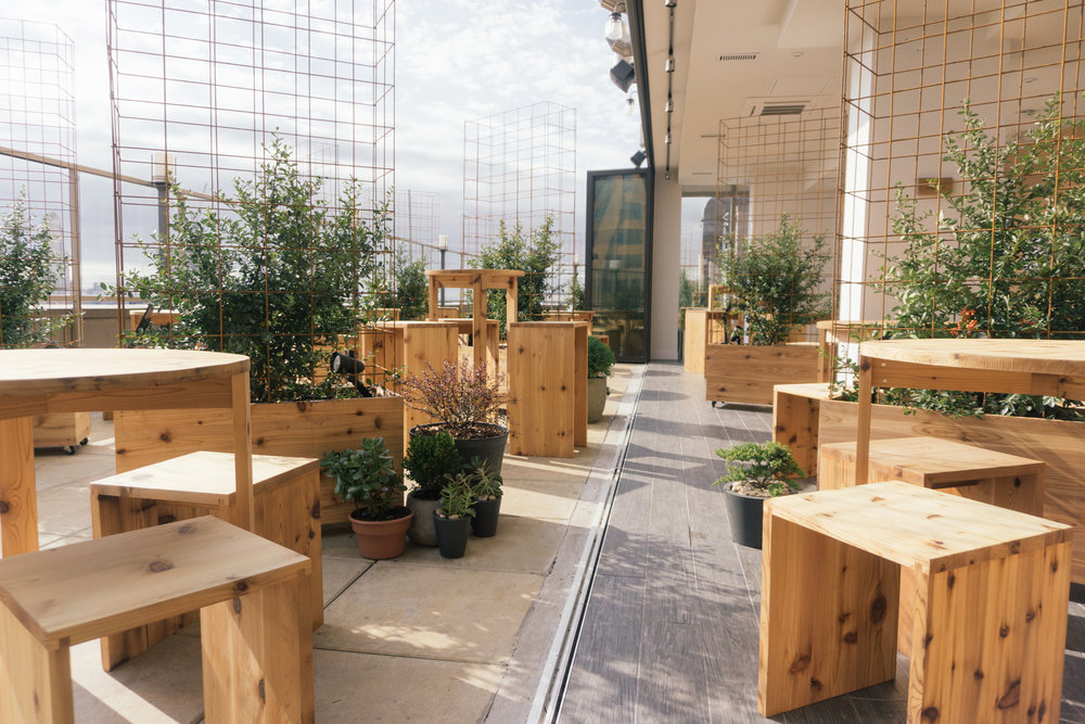 Situated above the Sheraton and Aloft Hotels in Downtown Brooklyn, Kimoto  is New York's first Asian rooftop beer garden. We wanted to challenge  stereotypes ...